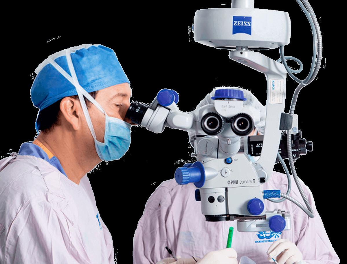 cirugía oftalmológica - Cirujano Oftalmólogo en Bogotá Colombia - Dr. Gabriel Oliveros