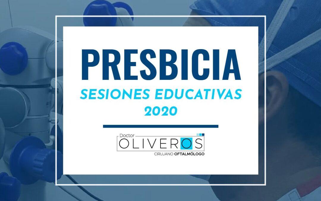Presbicia: Sesiones Educativas 2020